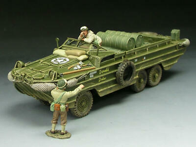 King And Country Dd063 - Dd63  Dukw Amphibious Vehicle Set 1:30 Scale Wwii D-day • 229.99£