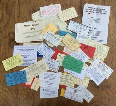 Collection Of LLEDO Certificates For Various Days Gone & Promotional Models  • 29.50£
