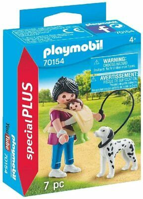 Playmobil Mother Baby + Dog Figures Playset Accessories Kids Imaginative Fun New • 5.67£