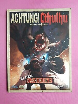 Achtung! Cthulhu - Elder Godlike Crossover Series Rpg Roleplaying Call Of Savage • 16.99£