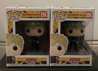 Official Funko Pop - One Man Punch Genos #258 • 79.99£
