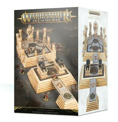Dominion Of Sigmar: The Enduring Stormvault Games Workshop Brand New • 90£