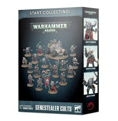 Start Collecting! Genestealer Cults Games Workshop Brand New 99120117011 • 54£