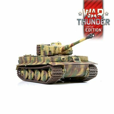 Forces Of Valor 1:24 Tiger 1 Infrared IR Combat R/C Tank By Waltersons *New* • 98£