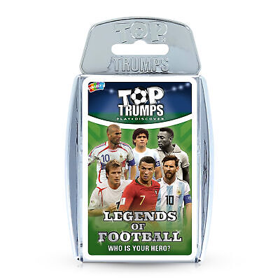 Top Trumps Legends Of World Football - Who Is Your Hero? Card Game • 5.99£