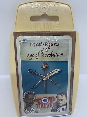 Top Trumps Great Figures Of The Age Of Revolution  • 6.99£