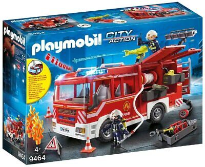Playmobil 9464 City Action Fire Engine With Working Water Cannon • 45.99£