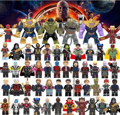Custom Lego Minifigures Bundle Uk Marvel Avengers Mini-figs Mini Figure Set • 9.99£