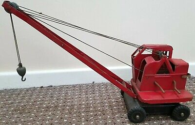 Vintage Toy - Triang 4 Ton Jones Mobile Crane  (Loft Find) • 50£