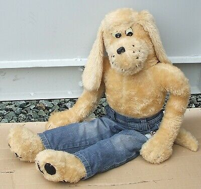 Large Vintage Toy Poppy Vintage Dog Toy From 1970's VERY RARE • 28.90£