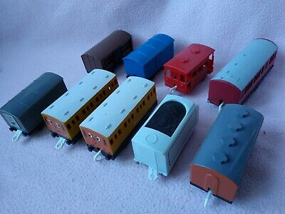 Tomy Tomica Thomas The Tank Engine Trains, Carriages Bundle! • 11£