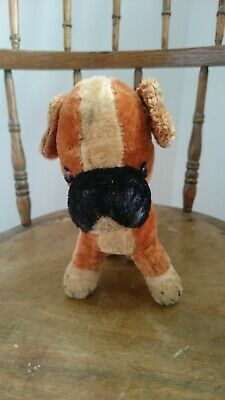 Merrythought Bongo The Dog Old Stuffed Toy From The 60s  (Rare) • 40£