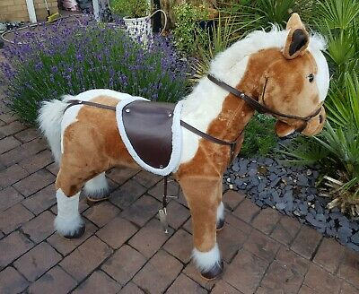 Large Plush Sit On Horse With Sounds • 9.95£
