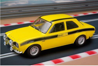 Scalextric Ford Mk1 Escort Mexico Yellow Ltd Collectors C2966 • 38£