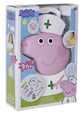 Peppa Pig  Doctors Medic Case - 9 Piece - Brand New • 15.99£