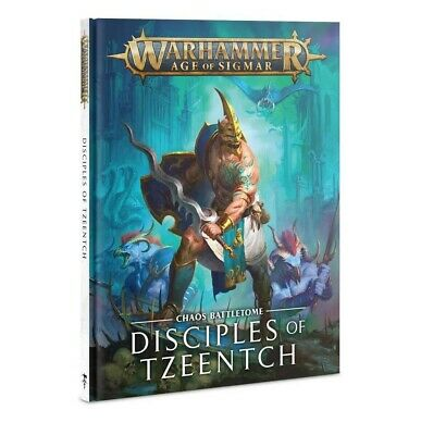 Battletome: Disciples Of Tzeentch Hb Warhammer Games Workshop New 60030201023 • 22.50£