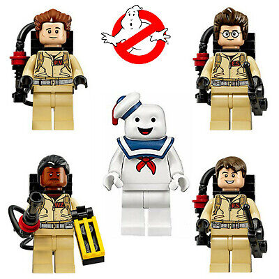 Ghostbusters + Stay Puft Marshmallow Man Minifigures Set Pop Building Blocks  • 5.99£