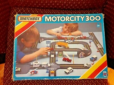 Matchbox Motorcity 300 Play Set (1987) - Complete And Boxed • 29.99£
