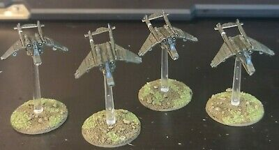 Epic 40k Imperial Guard Valkyries X4 (Well Painted) • 20.99£