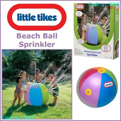 Little Tikes Ultimate Beach Ball Water Sprinkler Outdoor Play Toy For Kids NEW • 32.99£