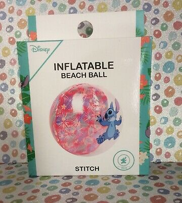 New Disney Stitch  Inflatable Beach Ball Boxed 30cm  • 10£