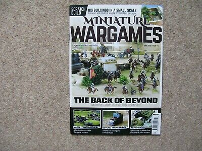 Miniature Wargames Issue 447 July 2020 • 3.50£