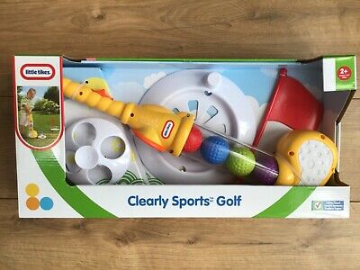 Little Tikes Clearly Sports Golf Outdoor Fun Garden Summer Toy Years + Bnib • 24.99£