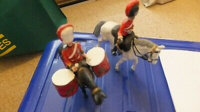 Toy Soldier Royal Scots Grey Drum And Trumpter • 12.50£