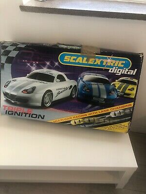 Scalextric Digital Multi Car Racing With Lane Change • 26£