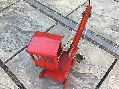 Vintage Triang Crane - Original Metal Toy Crane Tri-ang Collectable • 22£
