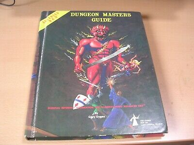 Advanced Dungeons & Dragons. Dungeon Masters Guide AD&D TSR Gary Gygax 1979 • 20£