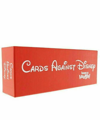 Cards Against Disney Your Childhood Table 828 Card Games Adult Party Game Box • 19.49£