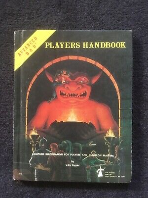 AD&D Advanced Dungeons And Dragons 1st Edition Players Handbook • 16.10£