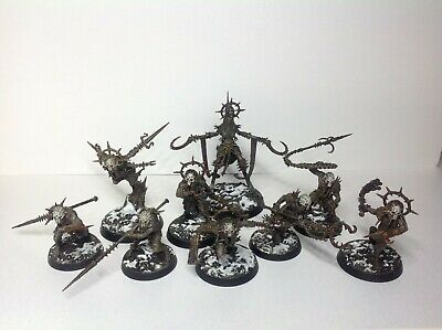 The Unmade Warband Blanchitsu Style New Painted Warhammer Warcry Games Workshop • 120£