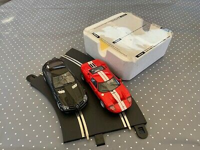 Scalextric Pair Of Cars Ford GT40 And Mercedes Benz McLaren SLR • 44£