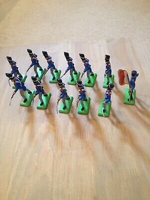Britains Deetail Napoleonic Waterloo French Infantry X12 • 6.28£