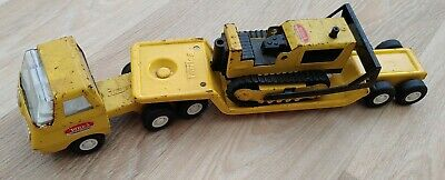 Vintage Tonka Toys Low Loader & Bulldozer • 7.99£
