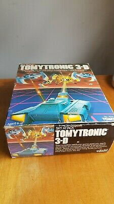 TomyTronic 3d Retro Game Boxed Sky Attack • 60£