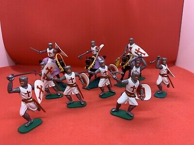 Vintage Timpo Job Lot Collection Of Crusaders 1960's • 14.20£