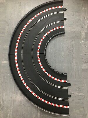 Scalextric Track Drift Curves And Barriers Lot C • 10£