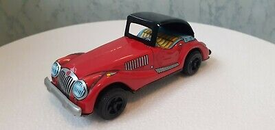 Vintage Made In Japan Tinplate MG Sports Car, Good Condition • 7.30£