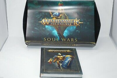 Wahammer 'age Of Sigmar' Soul Wars And Core Book • 70£