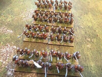 Painted 15mm Early Medieval Infantry For DBMM ,DBA ,DBM And Other Rules • 36£