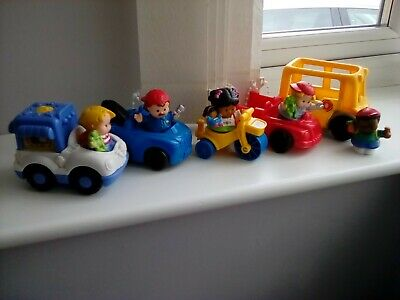 Fisher Price Little People Vehicle Bundle X 10 Items • 7.29£
