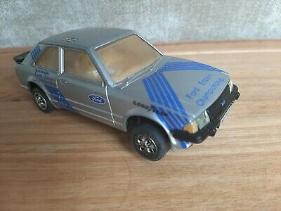Scalextric Car Ford Escort XR3i Silver C342  • 2.50£