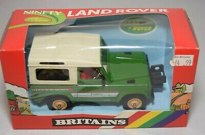 Britains 9512 Vintage Farm Ninety Land Rover With Original Box Green Scale 1:32 • 39.99£