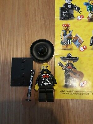 New Lego Minifigures Series 16 - 71013 - Mariachi - With Base Plate • 0.99£