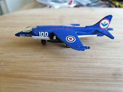 Matchbox Skybusters SB27, Royal Navy Harrier, Good Playworn Condition  • 1.50£