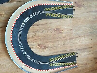 SCALEXTRIC CLASSIC CHICANE CURVES IN GOOD CLEAN CONDITION Complete Curve • 20£