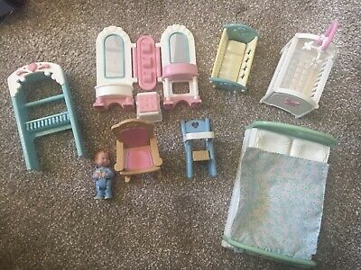 Vintage Fisher Price Doll House Furniture My Loving Family • 7.50£